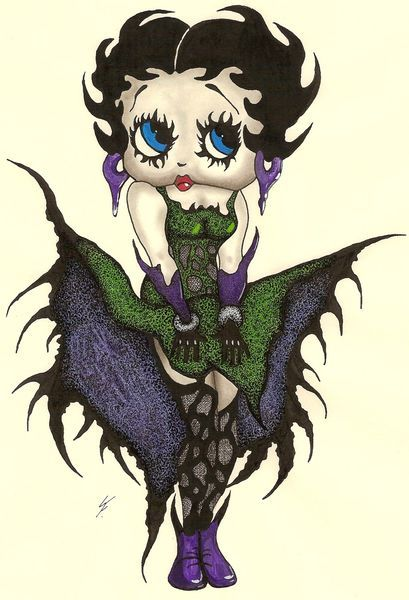 Goth Betty Boop *~<3*<3~*