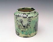 Chrysanthemum Vase by Whitney Smith (Ceramic Vase)