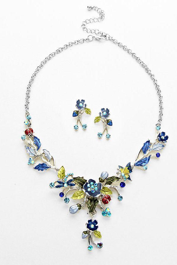 Secret Garden Necklace In Early Morning