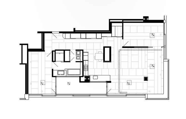Peter Märkli - Wohnungsausbau Hard-Turm-Park Hochhaus, Zürich 2014
