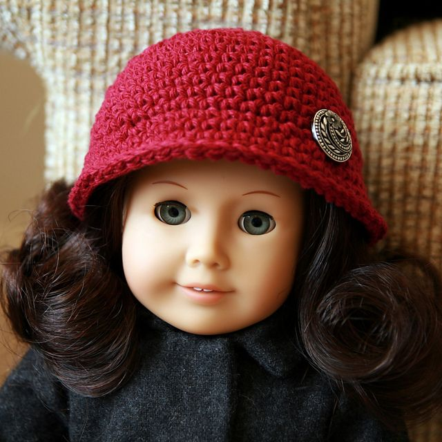 American Girl doll cloche - @Sherry Martinez -> Probably necessary to make this for Samantha!