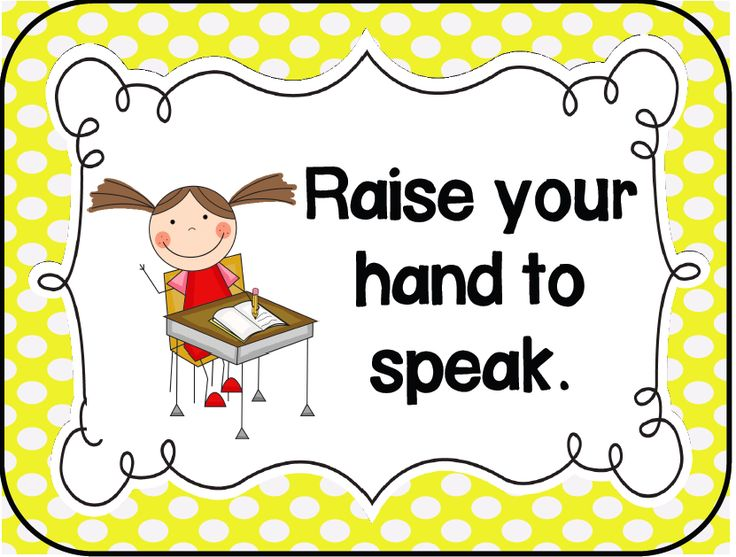 Kindergarten Kids At Play: Management Monday: Classroom Rules and ...
