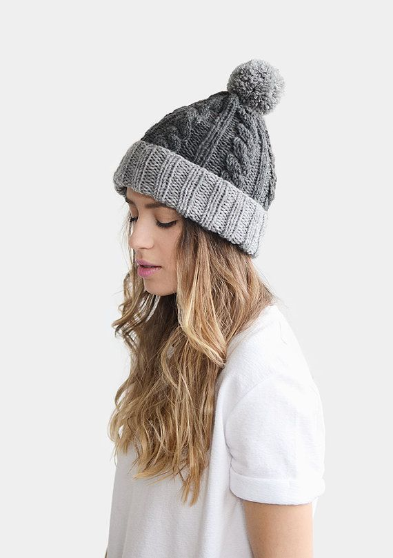 Custom knit hat, more than 30 colors to choose from!