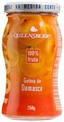 Geleia Queensberry de Damasco 100% Fruta.