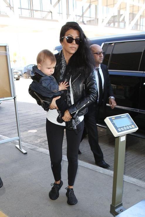 Kourtney Kardashian LAX Airport September 20, 2015