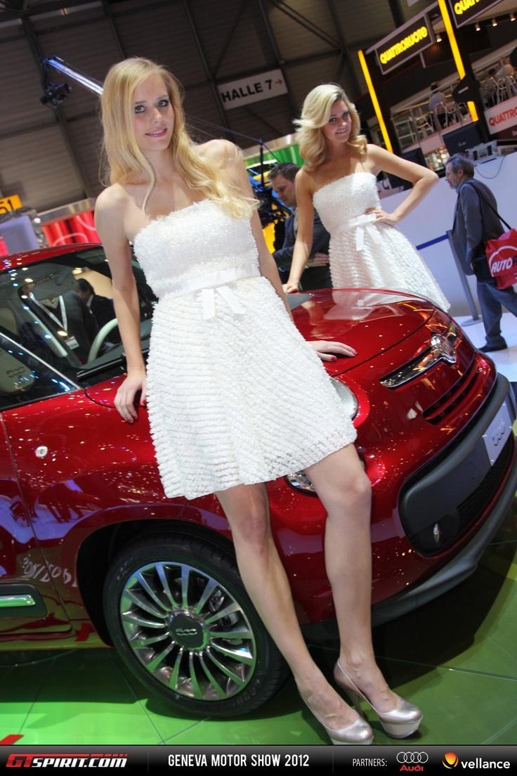 geneva motor show 2012 girls part 1