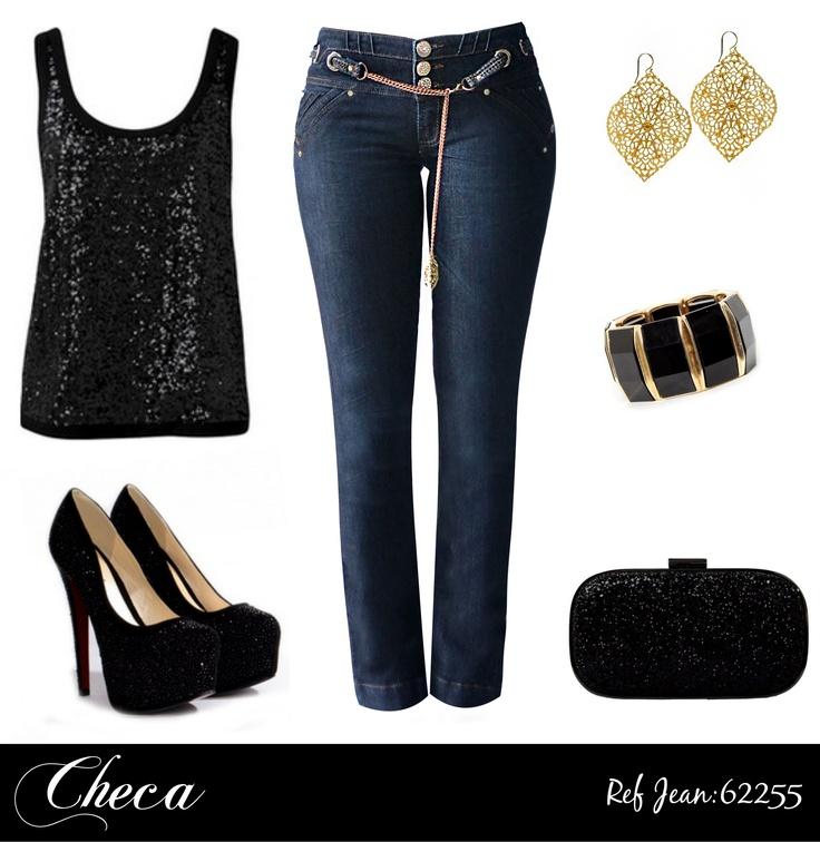 ¿Ya tienes el complemento perfecto para tus Jeans Checa?. Te damos propuestas para que crees un Look Genial y Chic. Consigue el Jean en: http://tienda.checajeans.com/product.php?id_product=255