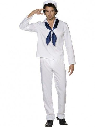 Fever Sailor Man Costume #adult-male-costume #sailor-man-costume