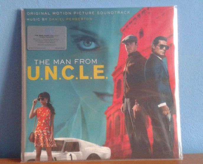 The Man from U.N.C.L.E. LP :: Henry Cavill Czech fanclub