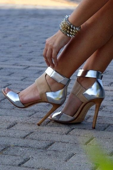 Michael Kors Ankle Cuff Heels