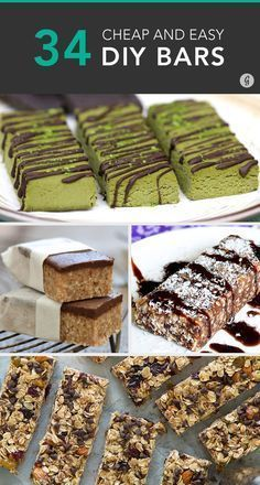 Save money on your healthy snacks and DIY bars