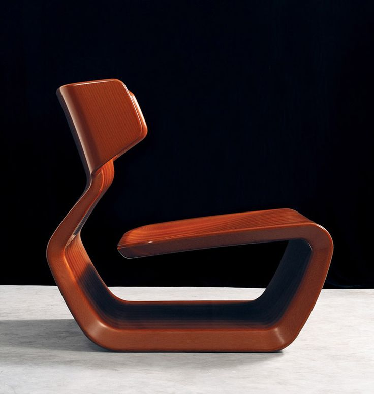 Marc Newson: Micarta Chair 2007 - Gagosian Gallery, New York