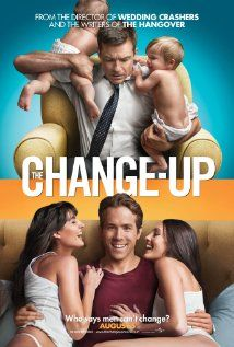 The Change-Up - Dave is a married man with two kids and a loving wife , and Mitch is a single man who is at the prime of his life. One fateful night while Mitch and Dave are peeing in a fountain, lightning strikes and they switch bodies. Really funny and you can't go wrong with Ryan Reynolds.