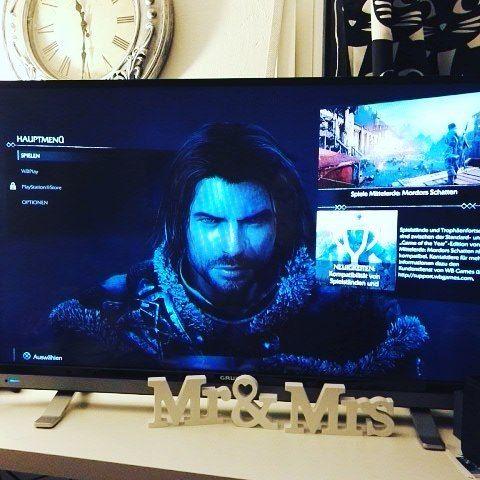 #PS4  Erstmal Mittelerde Mordors Schatten auf der #playstation4 zocken  Und ihr so?  #zocken #mittelerdemordorsschatten