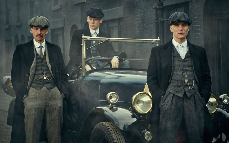 Peaky Blinders...love this show!