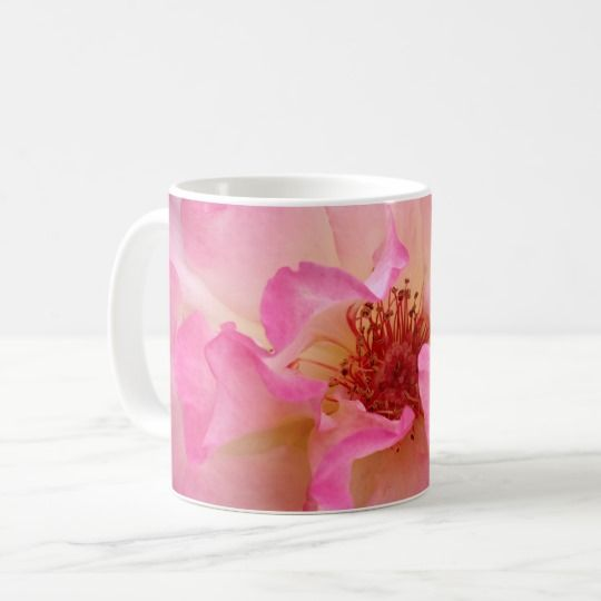 Pink Rose Mugs