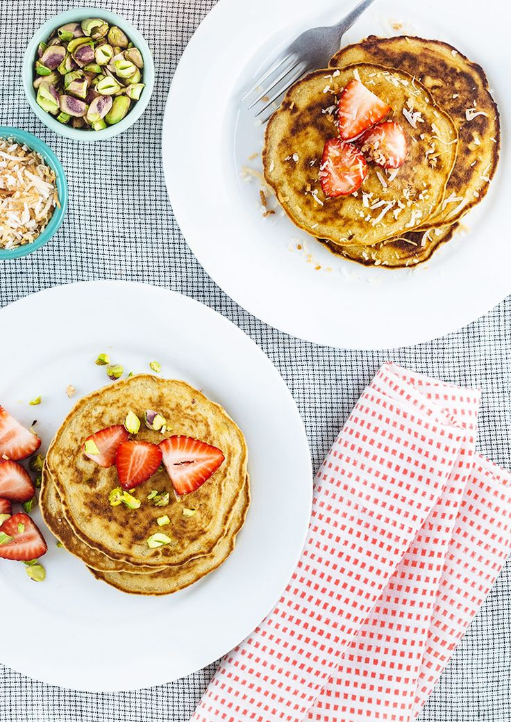 Coconut and Quinoa Pancakes