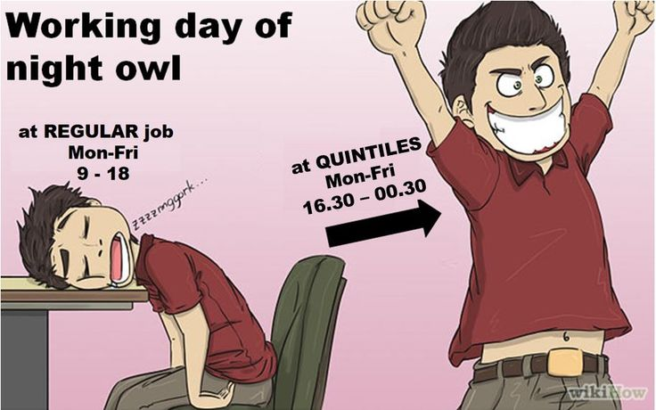 BULGARIA: Are you an NIGHT OWL? Hate to wake up early and to feel sleepy all day long? I do have DREAM job for you. Your working hour will start at 16.30! Learn more about job opportunity for night owls at Quintiles.  In case of any questions reach me out via alexandra.sazonova@quintiles.com.