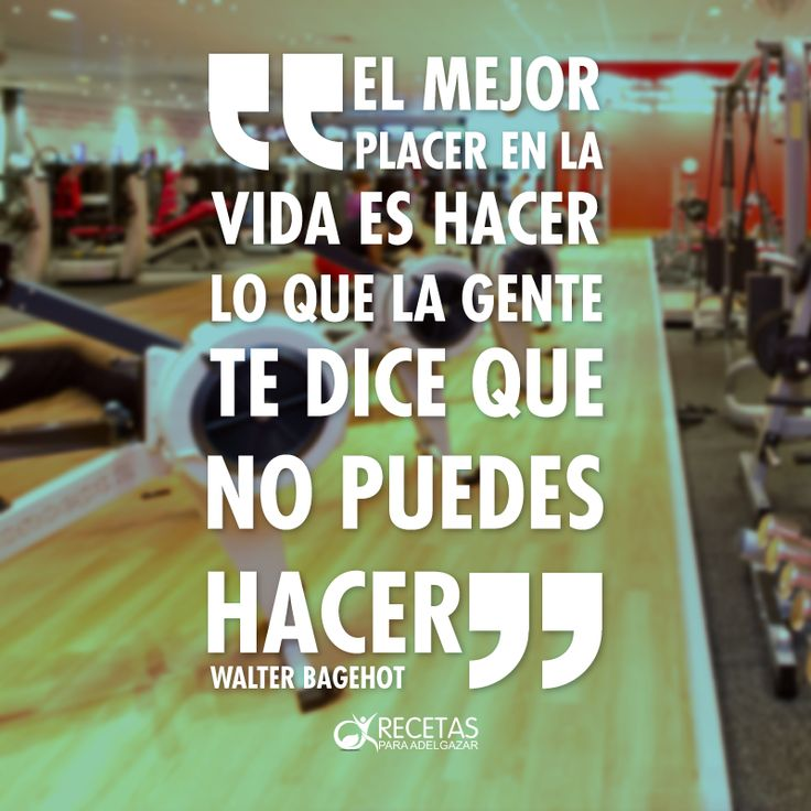 ¡Demuéstrales que eres capaz de eso y mucho mas! #Motivation