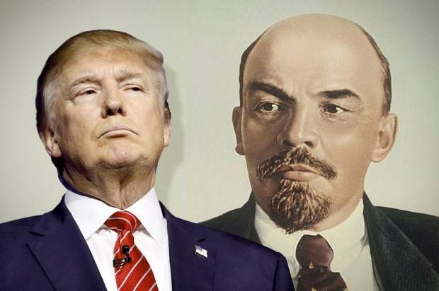 Two November revolutions: Another Russia-Trump connection