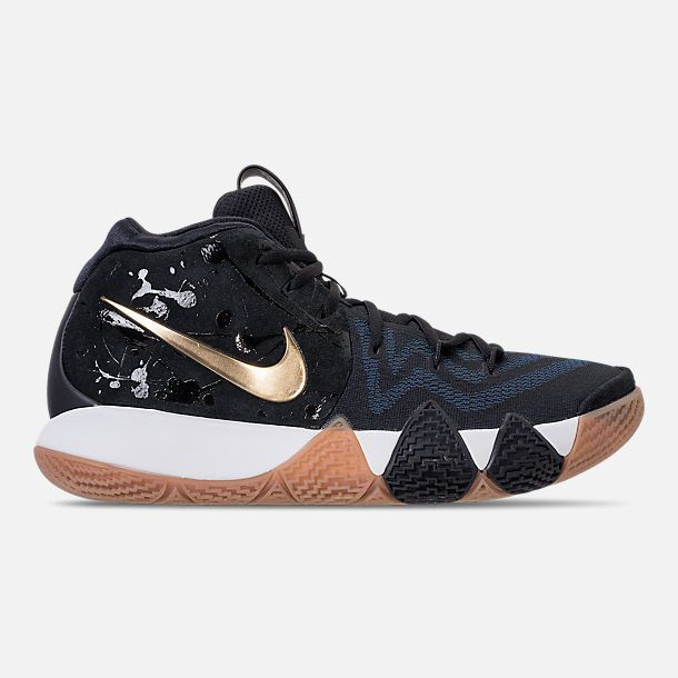 cheap for discount 5f2a0 7ecaf Right view of Men's Nike Kyrie 4 Basketball Shoes in Black ...