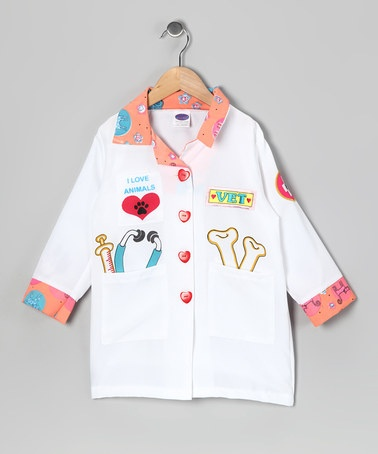 Take a look at this White Veterinarian Coat - Toddler & Kids by Let's Play Pretend: Kids' Apparel & Toys on #zulily today!