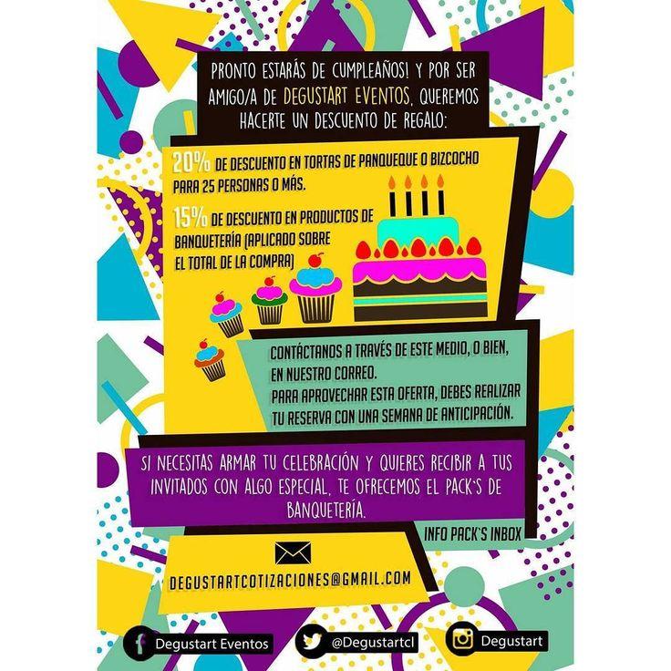 Amigos/a de Degustart ya que pensamos en uds. Les traemos este super regaloneo :)   Hagan sus pedidos a degustartcotizaciones@gmail.com o através de nuestro fanpage . #pasteleriaartesanal #gourmet #fondant #food #postres #reposteria #tortas #cumpleaños #babyshower #matrimonios #eventos #candybar #nakedcake #cake  #weddingcake #cupcake #cupcakes