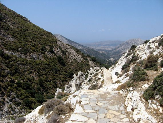 Naxos, on the way to the Temple of Za