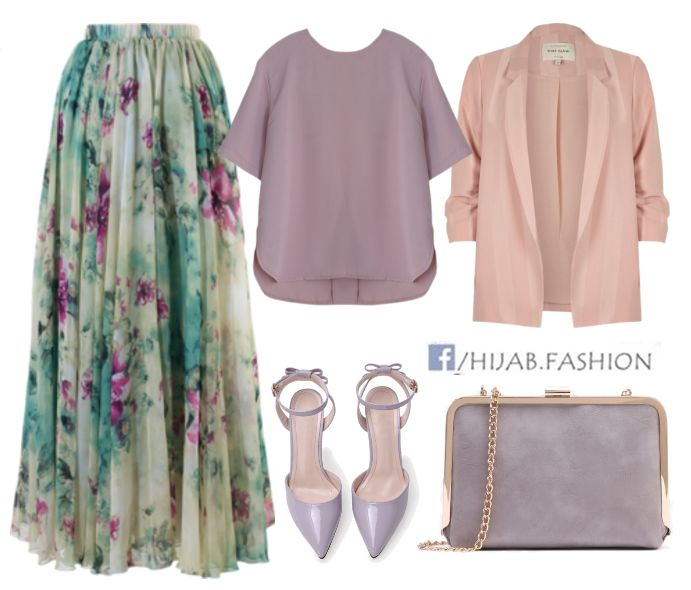 Beautiful Purple Floral Birthday Outfit