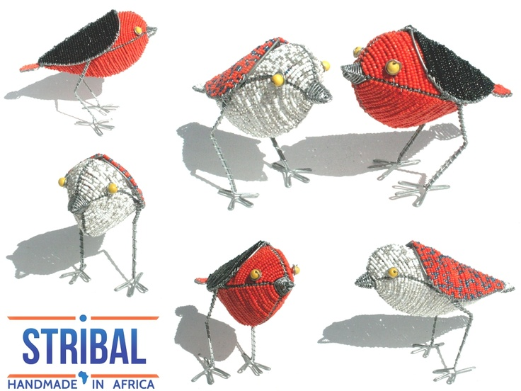 Stribal's offer of the Day:  Pair Of Beautifully Crafted Wire Beaded Robins - Birds From Africa.   See offer here:http://www.stribal.com/catalog/product/view/id/10618/s/pair-of-beautifully-crafted-wire-beaded-robin-birds-from-africa/