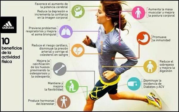 10 Beneficios de hacer actividad física #deporte #estudiantes #umayor #salud