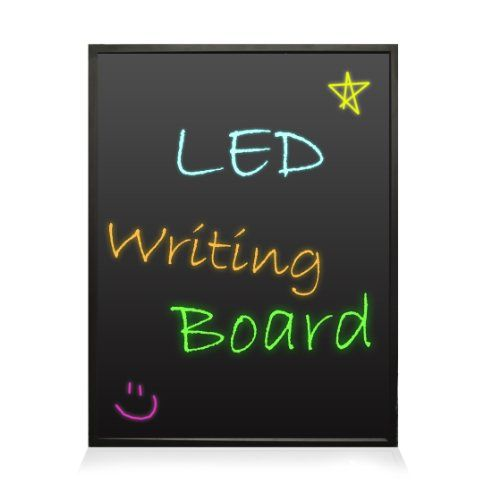 Pyle PLWB6090 Erasable Illuminated Flashing LED Writing Board with Remote Control and 8 Fluorescent Markers Pyle http://www.amazon.com/dp/B00JZUZLQY/ref=cm_sw_r_pi_dp_1UY4vb1HGX6C3