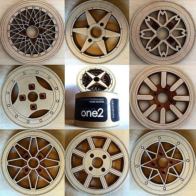 Jdm Wheel Coasters™ ☑️ ☑️ ☑️ 112auto.bigcartel.com☑️ ☑️ ☑️ ☑️ #oneone2…