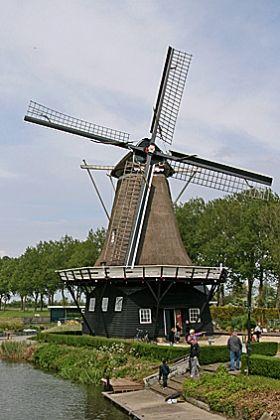 Flour mill Vrouwbuurstermolen, Vrouwenparochie, The Netherlands