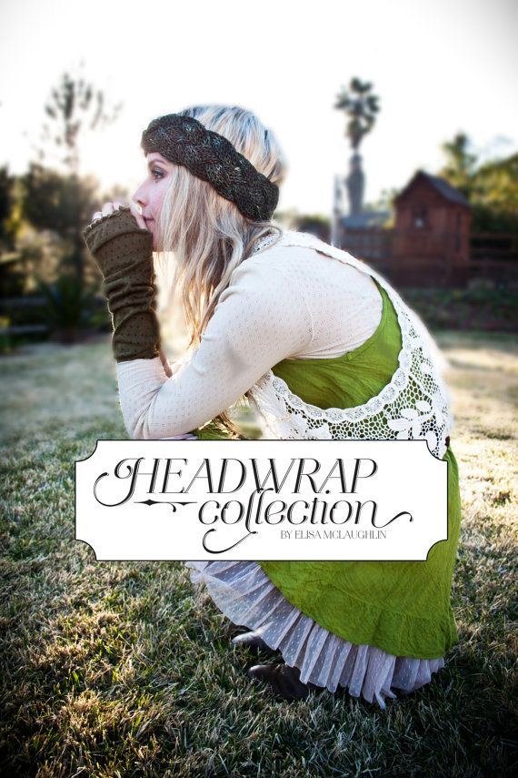 E-BOOK Headwrap Pattern Collection Knitting by mclaughlindesigns