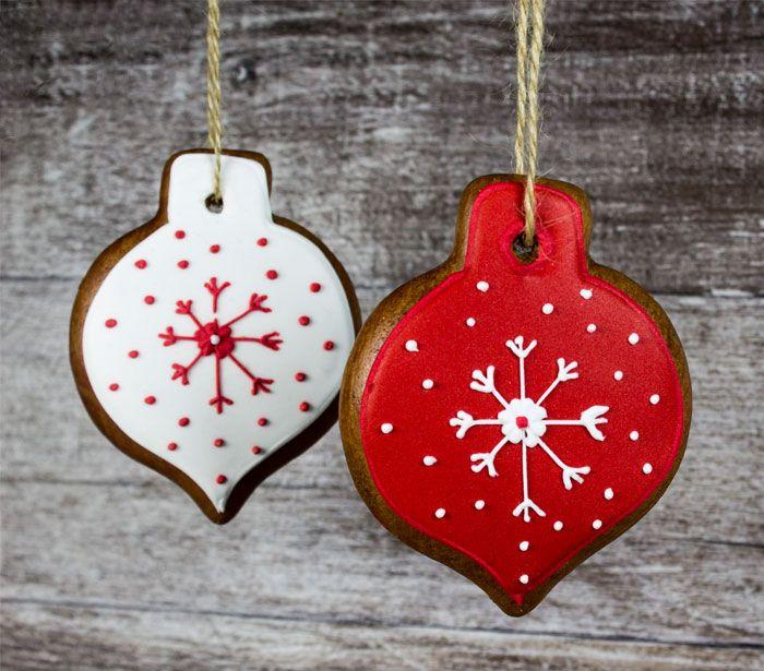 Pernikove ozdoby na stromček  #christmas #red #pernikovekralovstvo #medexfam #christmastree
