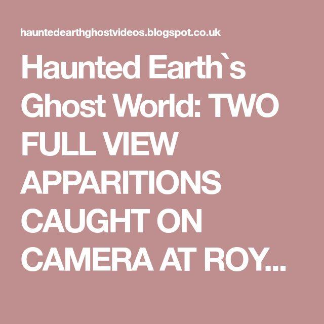 Ghost Caught On Camera On Pinterest