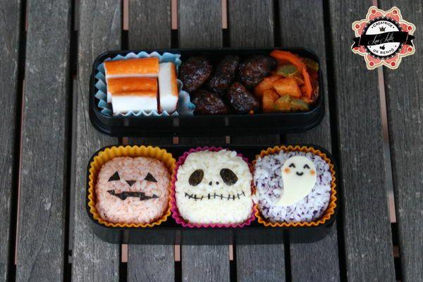 19 bento halloween