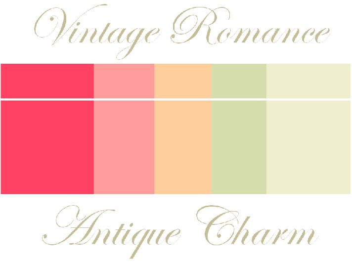 Wedding Decor Ideas- Vintage Romance, Antique Charm