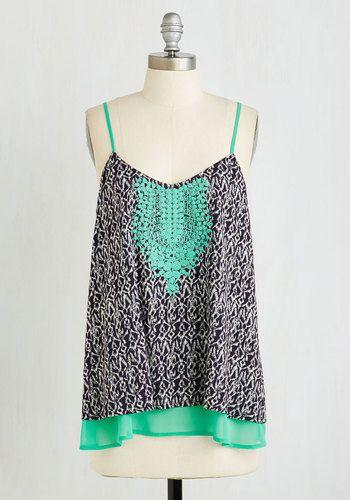 Thursday Night Tapas Top | Mod Retro Vintage Short Sleeve Shirts | ModCloth.com