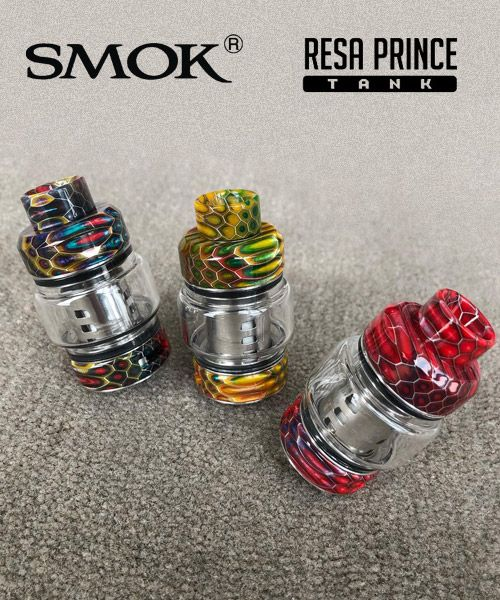 Vapor Joes - Daily Vaping Deals: ROLLOUT: THE SMOK RESA PRINCE TANK - $29.20 + FREE...