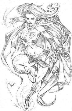 Supergirl by Paolo Pantalena *