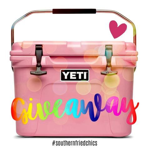 ✨SNEAK PEEK Who wants us to giveaway • F O U R • Yeti Coolers JUST in time for the holiday season!! We want to see a SHOW OF HANDS TAG a friend in the COMMENTS BELOW that NEEDS a { P i n k } YETI in their life✨ How to enter our Pin It to Win It Giveaways: 1. Pin the Pin It to Win It picture to one of your Pinterest boards 2. Comment on the Pin It to Win It pin with your full name, the size you'd like to win, and the state you are in. 3. Spend $100 with us for the holidays! That's it!