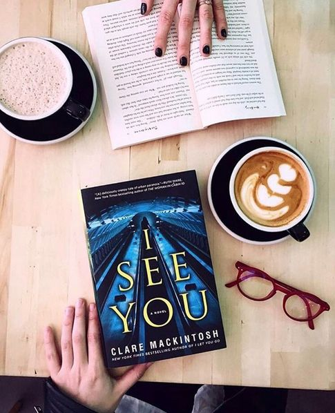 I SEE YOU by Clare Mackintosh is out now!