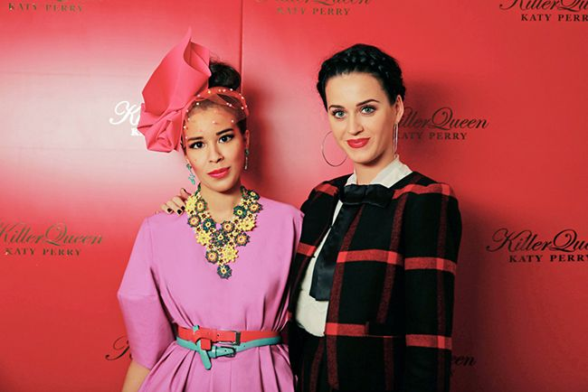 Katy Perry Killer Queen fragrance premiere http://bit.ly/1rxExiR