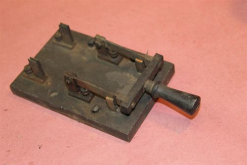 Antique Electrical Knife Switch Steampunk Industrial