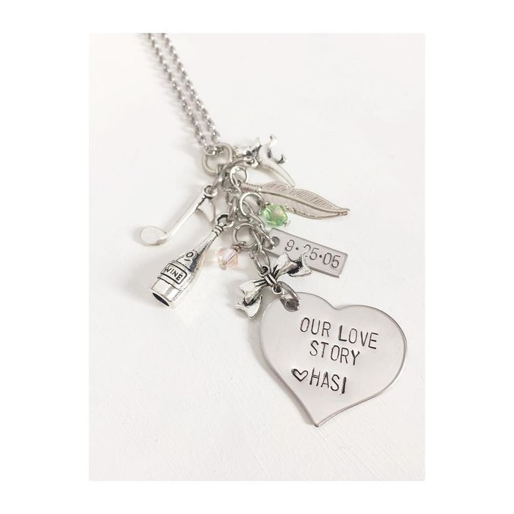 @cutelittlebabes new charm necklace she had me make for her! How special is this. Each charm has a very special meaning to her. If you want a charm necklace made, message me on etsy. #necklace #charmnecklace #Etsy #etsyshop #smallshop #keepsake #nothingbutglisten #gift #wedding #birthdaygift #mothersday #anniversary #bride #bridalshower #love #lovestory