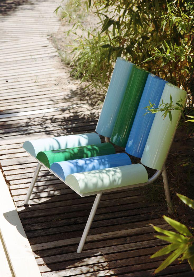#milky #armchair, design by #AntonioAricò for #altreforme, #galactica collection #interior #home #decor #homedecor #furniture #aluminium #woweffect #madeinitaly