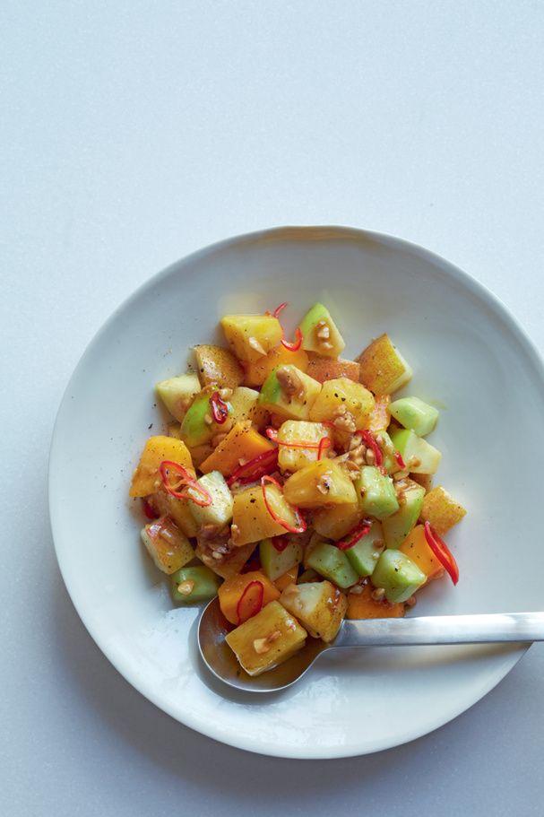 Salade de fruits pimentés