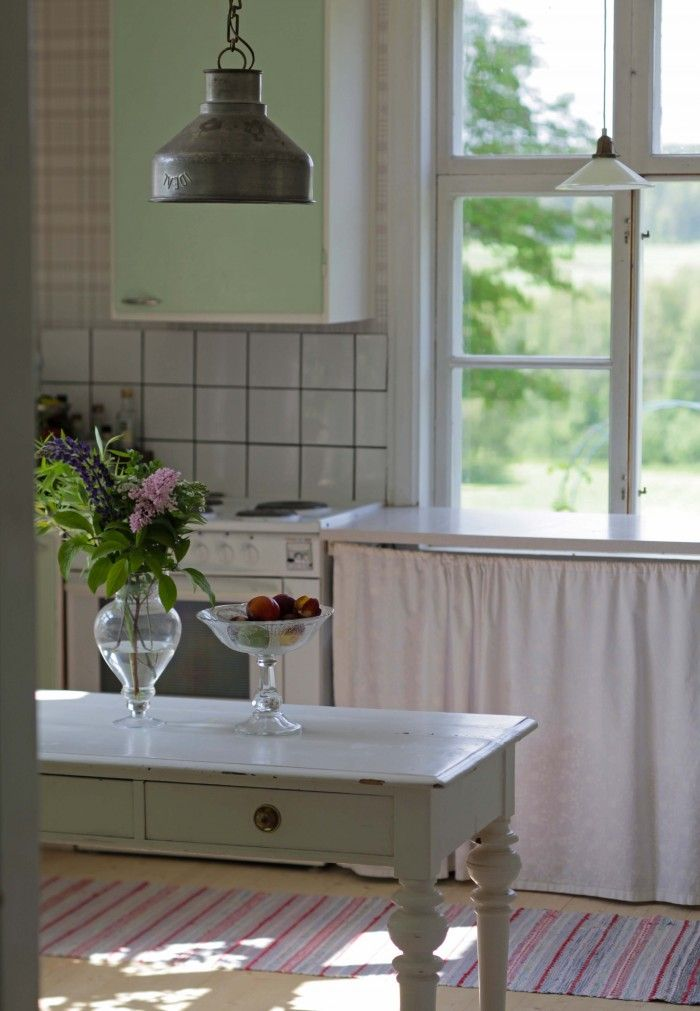 Retro swedish country kitchen. Underbaraclara